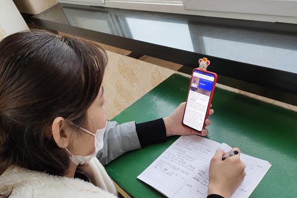 """冀州区:宅家也能学技能 """"扶贫家政""""线上忙"""