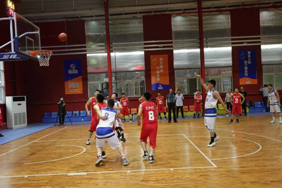 """2020年""""衡水银行杯""""金融系统篮球比赛正式开幕"""