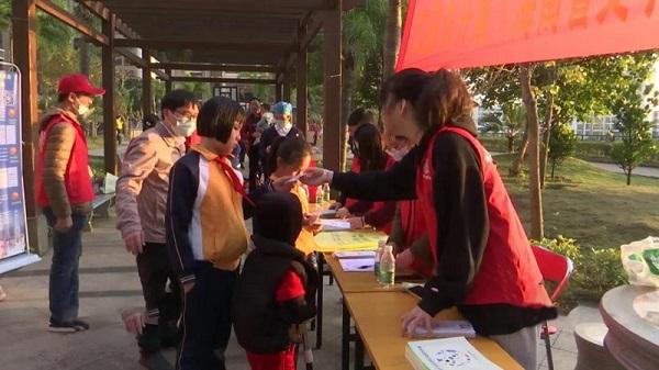 海南省:文昌开展送温暖进社区志愿服务活动