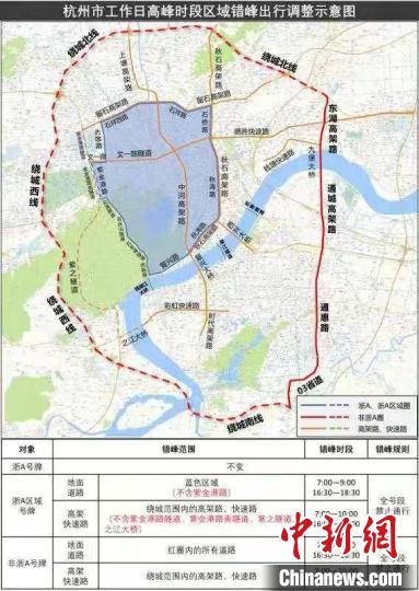 """杭州放宽小客车""""限牌""""政策 同步配套公交优化方案"""